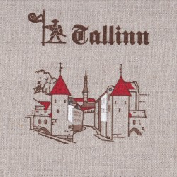 Лён с хлопком F111-n-Tallinn