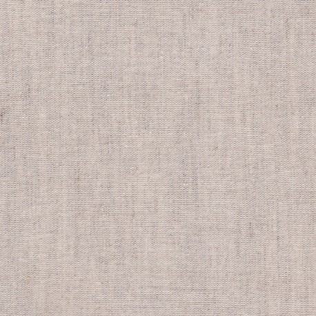 Natural semi-linen fabric