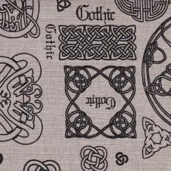 Ткань Готика