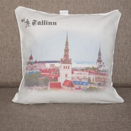 Decorative pillowcase Tallinn 1