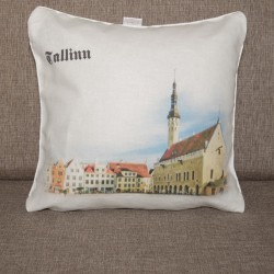 Decorative pillowcase DP01-05-w Tallinn 2