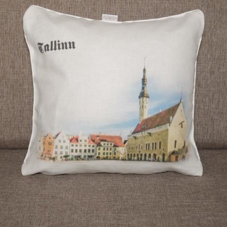Decorative pillowcase Tallinn 2