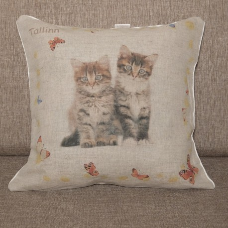 Decorative pillowcase Kittens