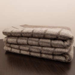 Double blanket 140x205 70% wool BB02-01