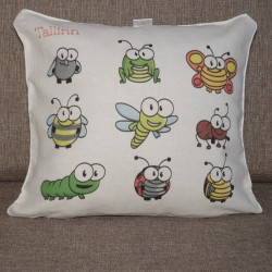 Decorative pillowcase Beetles